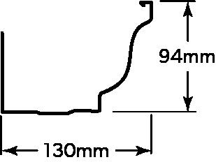 COLONIAL® GUTTER